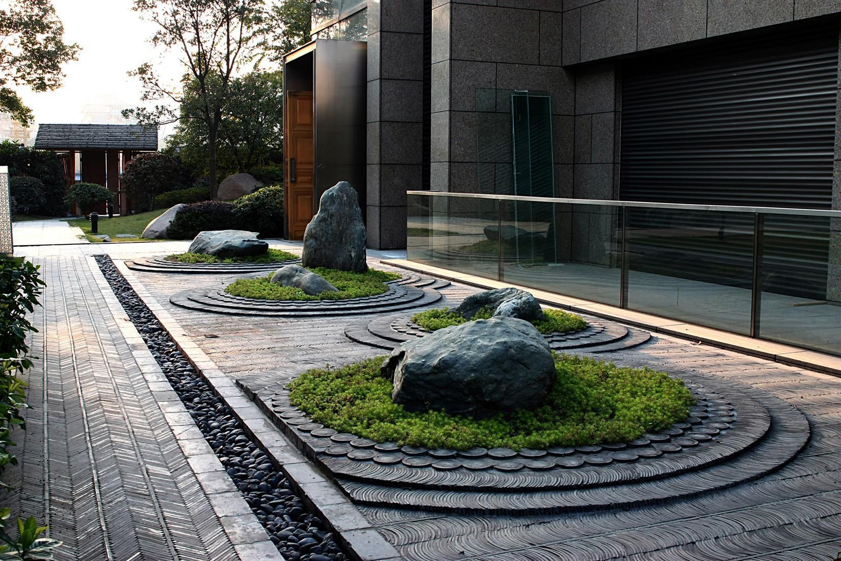 如何营造新中式庭院与庭院美图欣赏(一)图片