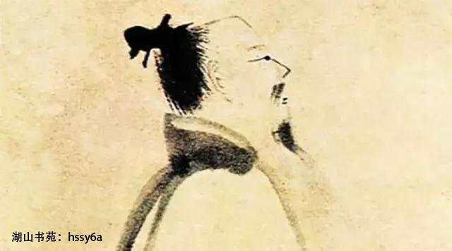 从 泼墨仙人图 说中国古人的醉态