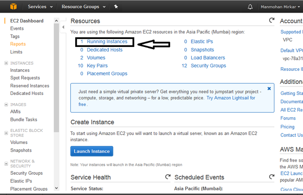 如何在amazonaws上设置一台linux服务器