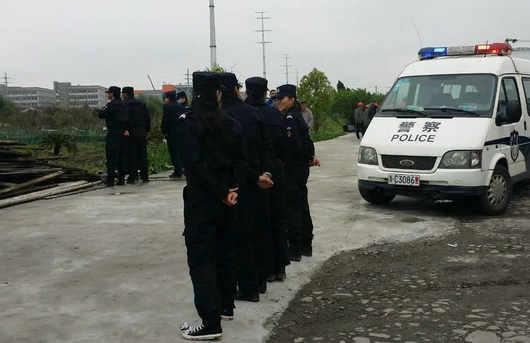 苍南县供电局强征调查:300万元雇佣保安