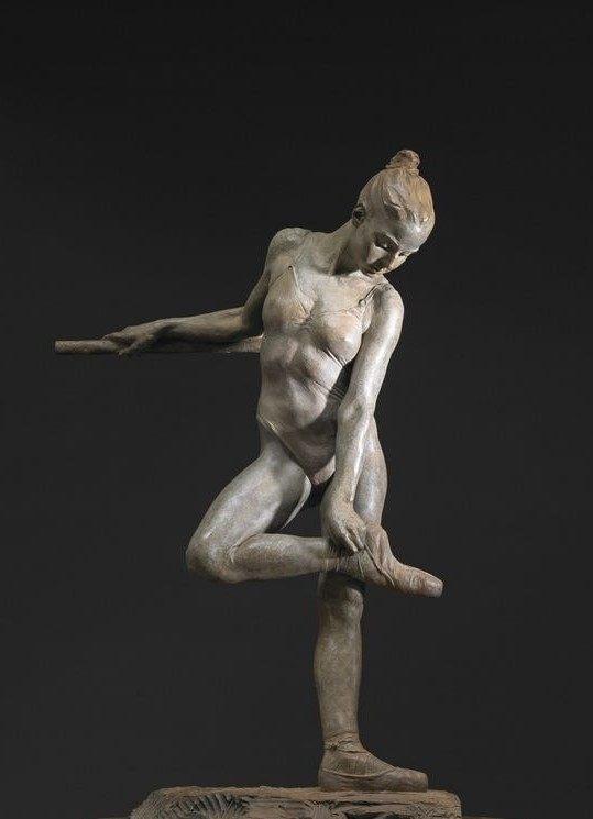 芭蕾舞女孩白铜人体雕塑