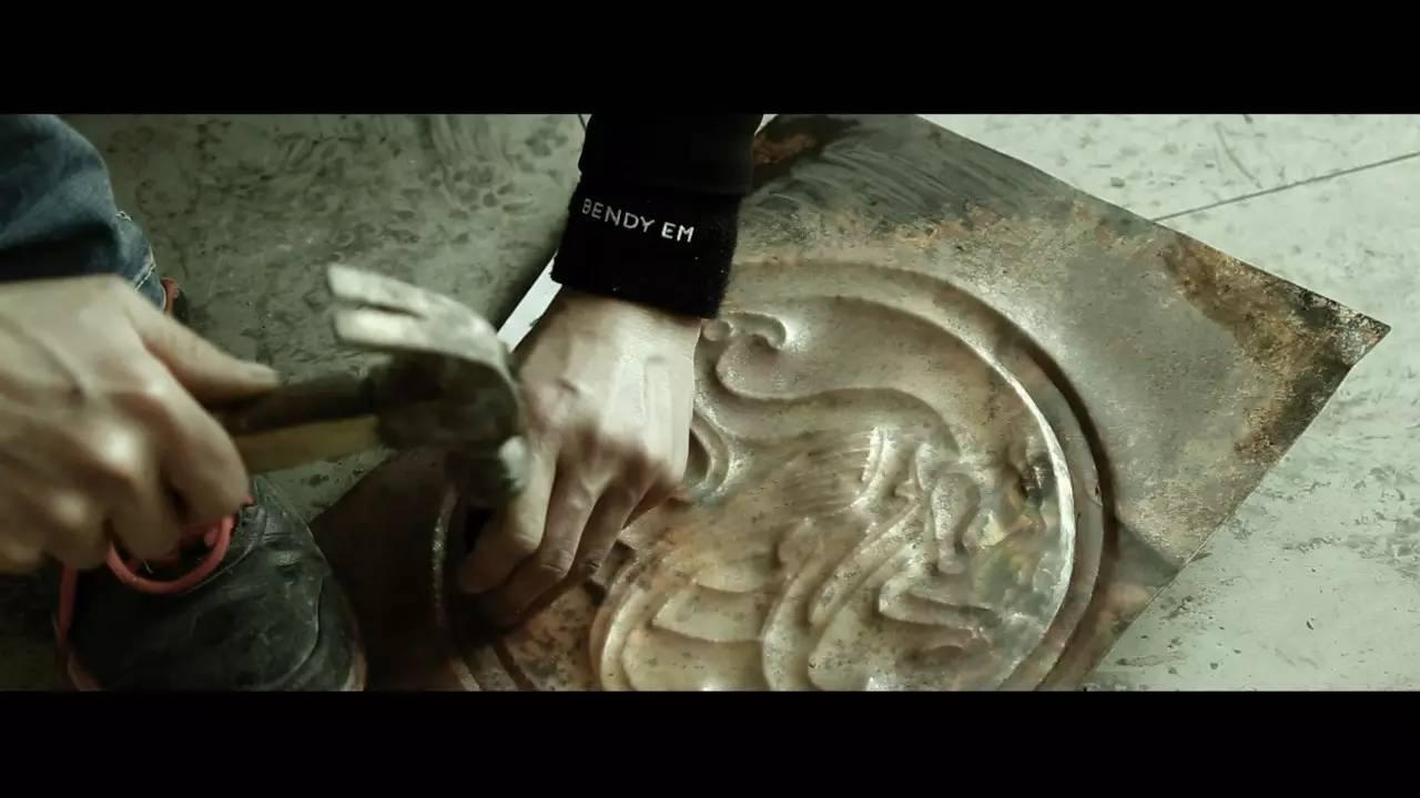 铜板浮雕制作工程