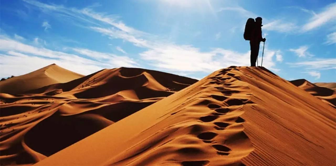 4月29 01号腾格里沙漠徒步 天鹅湖露营 第七期