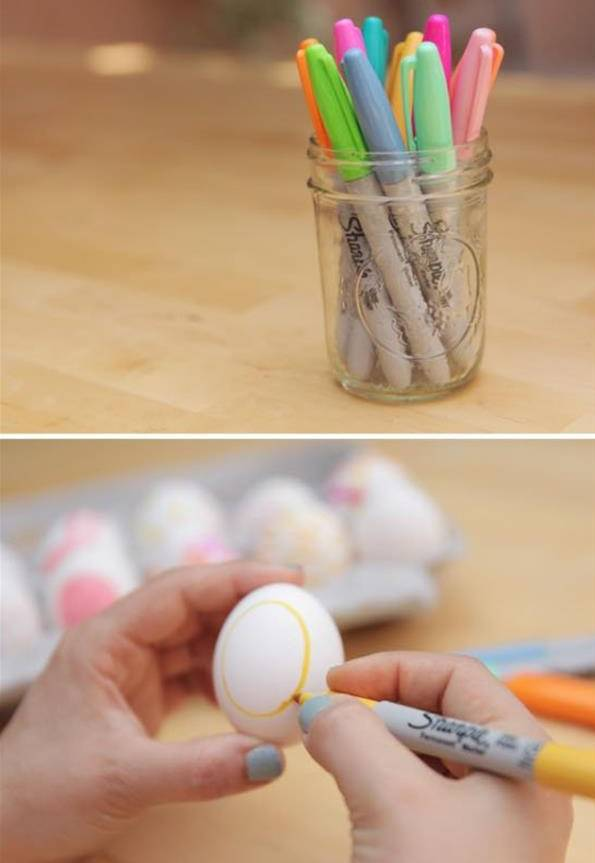 幼儿园鸡蛋壳手工绘画,让家长都惊呆了!