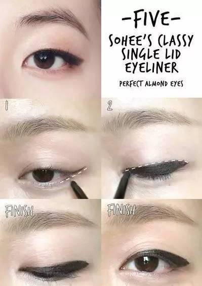 提醒自己眼线需要涂多厚图片