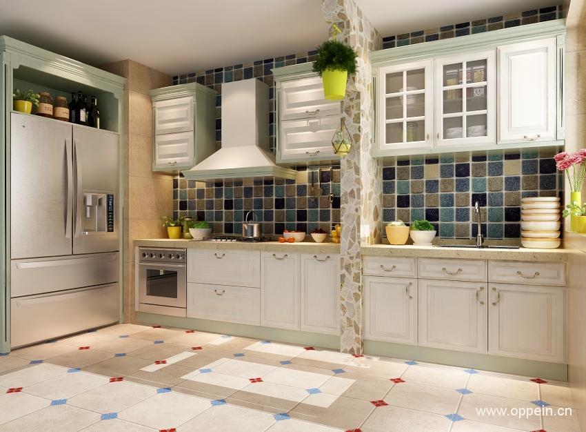嵌入式冰箱橱柜设计效果图推荐图片