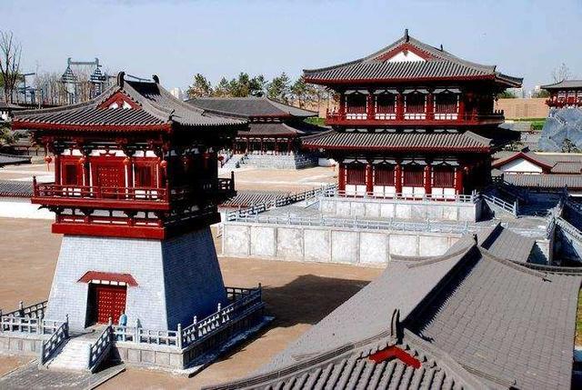 唐朝皇宫大明宫,称为中国宫殿建筑的巅峰之作图片
