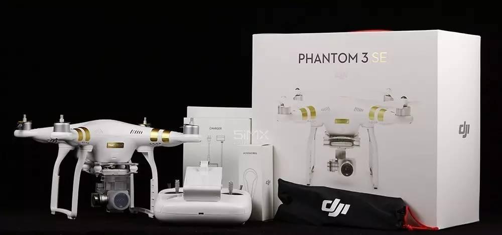 入门良选之Phantom 3 SE开箱测评