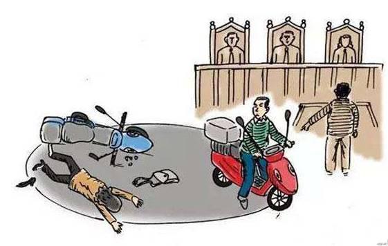 厦门一男子骑摩托车与人刮碰发生冲突,竟然被对方用钥匙插脑袋!图片
