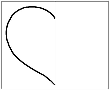 儿童简笔画:心形创意画法大全,给你一颗多彩之心图片