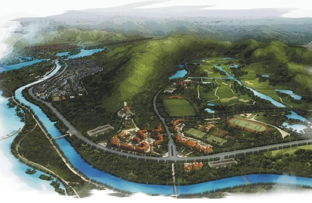 台州东山湖规划图2018