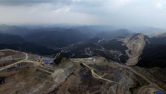 """贵州瓮安矿山挖""""地球6亿年化石""""做磷肥 科学家:开采已被叫停(组图)"""