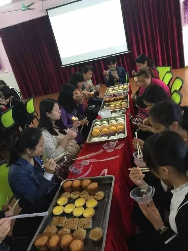 佛冈县建设路幼儿园膳食品尝交流周活动