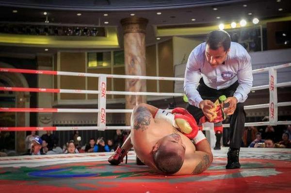 中国泰森张君龙重拳扬威世界,获专业外媒收录档案