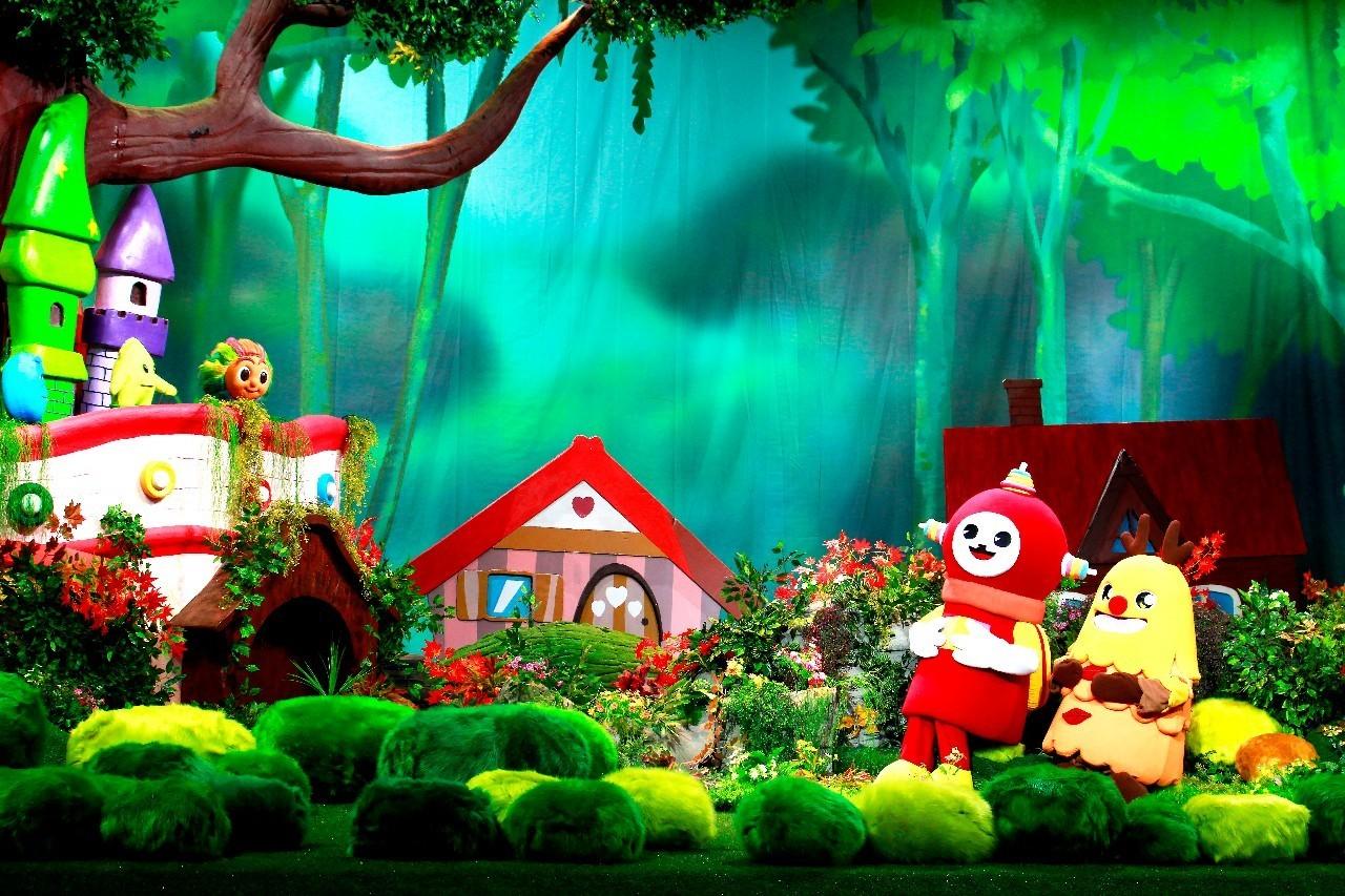 麦杰克小镇做客cctv-1第一动画乐园啦!图片