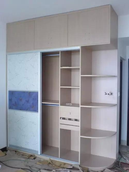 衣柜内部结构图,供您参考