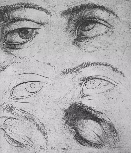 想要画好人物头像,头部结构必须过关       · 眼睛结构分析图