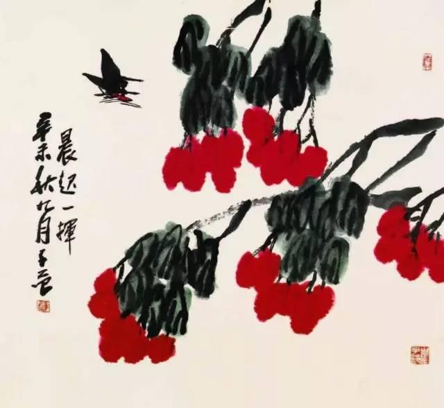 大画家崔子范的大写意花鸟艺术境界图片