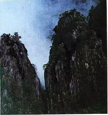 山水画里的那些 皴 在现实中都是什么样子