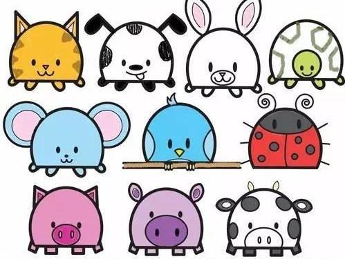 儿童简笔画:由字母d演变十种动物,加深孩子记忆图片