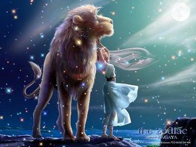 狮子享受独处,天秤感受和谐