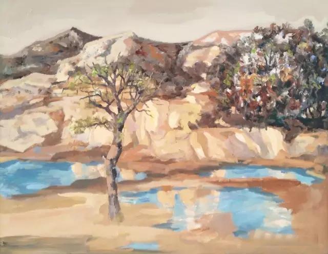 走进齐鲁 中国当代油画院艺术家作品展