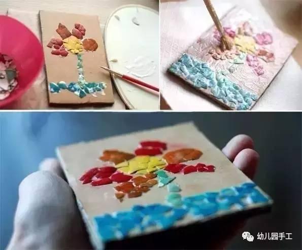 幼儿园鸡蛋壳创意手工大全图片