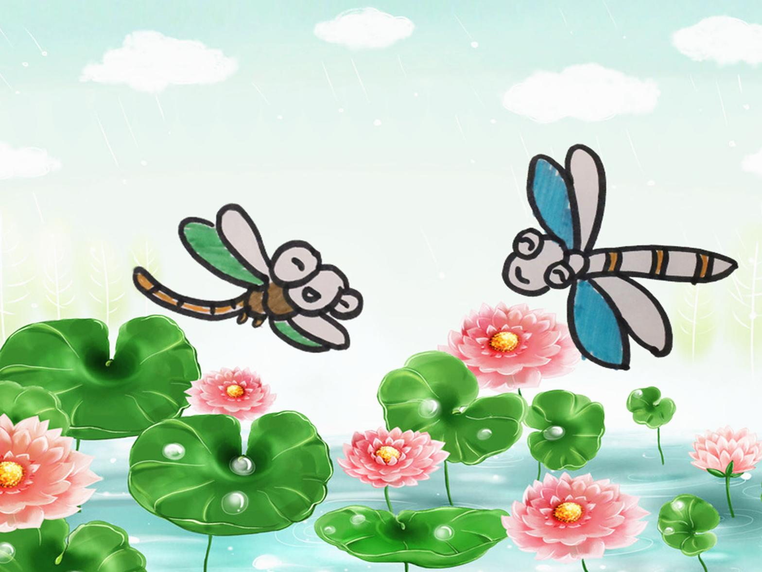 分享蜻蜓的简笔画画法,卡通蜻蜓 希望大家喜欢哦!   淘趣工坊出品