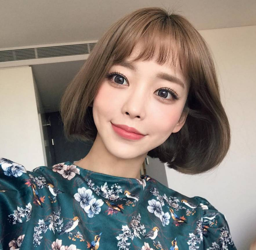 最流行的短发型_流行女短发型图片 最流行的短发型