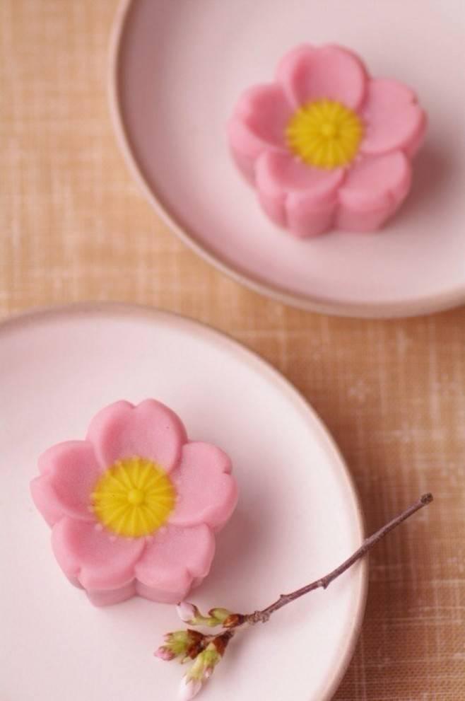 Kết quả hình ảnh cho 樱花糕