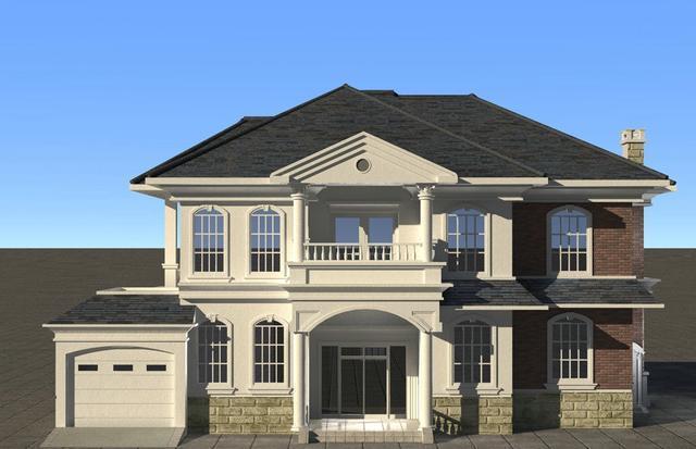 别墅屋顶外观造型