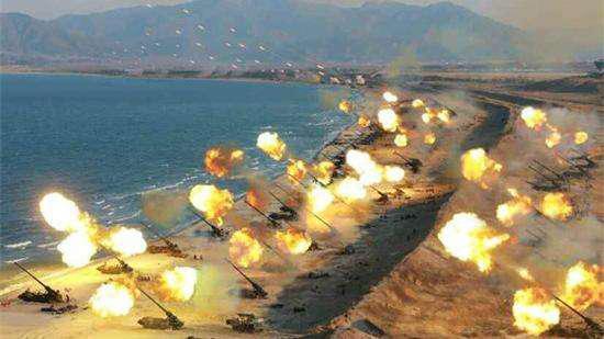 美军有能力在30分钟之内清除上万门火炮吗?(图)