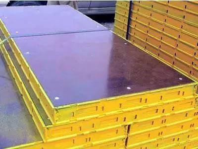 钢框复塑竹胶合模板