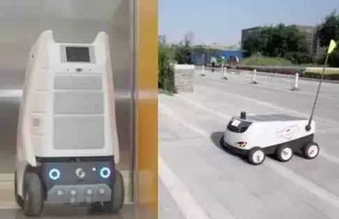 智能物流机器人排排坐,未来70 的快递员要下岗
