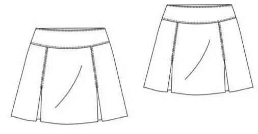 结构制图 | 裙子及裙子的变化