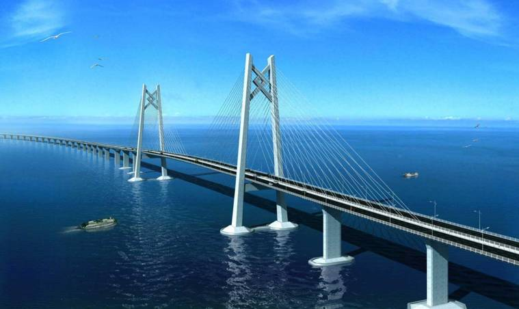 港珠澳大桥(图/互联网)-粤港澳大湾区的出现,不仅厉害了我的国,