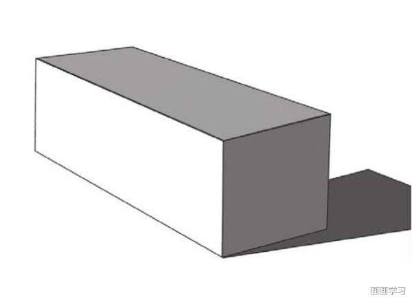 如何学素描 素描长方体的绘画教程图片