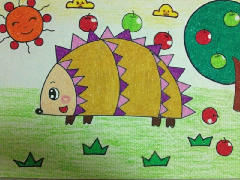 候学到了小学四年级之后接触一些素描与色彩.儿