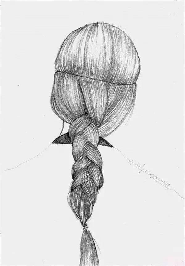 【素描技巧】头发很重要,可是一直画不好?