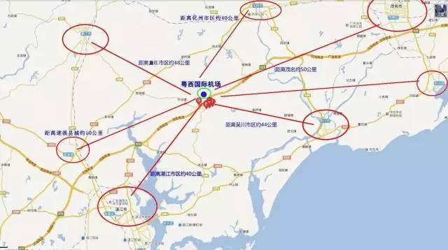 阳江市区地图-好消息 茂湛高速 茂名段 将增加机场互通出入口及连接线