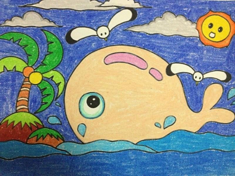 儿童蜡笔画教师范画-100张幼儿园儿童范画大全,老师家长收藏喽