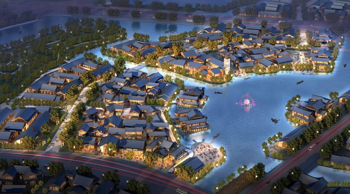 忘记乌镇,西塘,周庄吧!咱许昌自己建的周庄水乡,惊艳得更加触手可及!图片