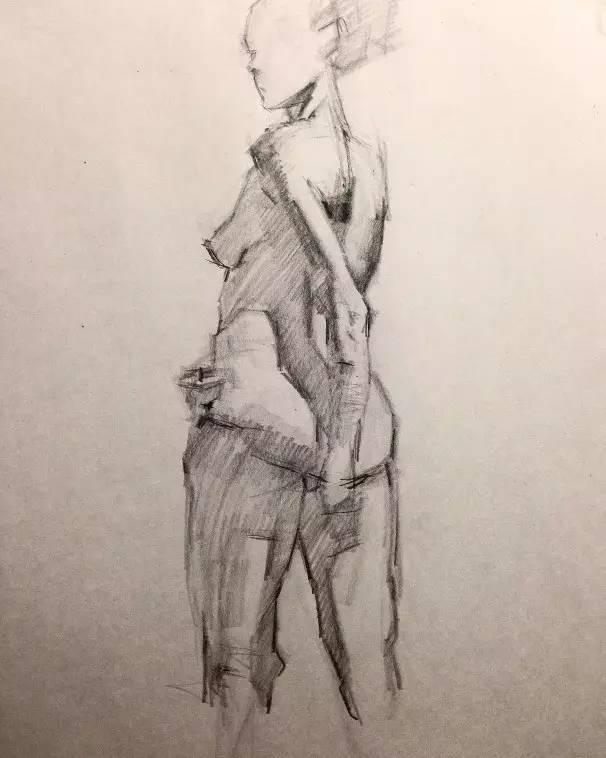 《马克笔服装手绘+美国时装画技法教程》