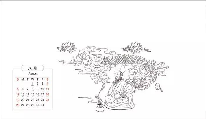 手绘创意漫画,邀请500年前的王阳明来到当今的余姚!