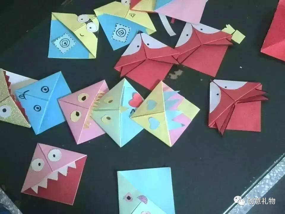 diy折纸书签,新技能get!