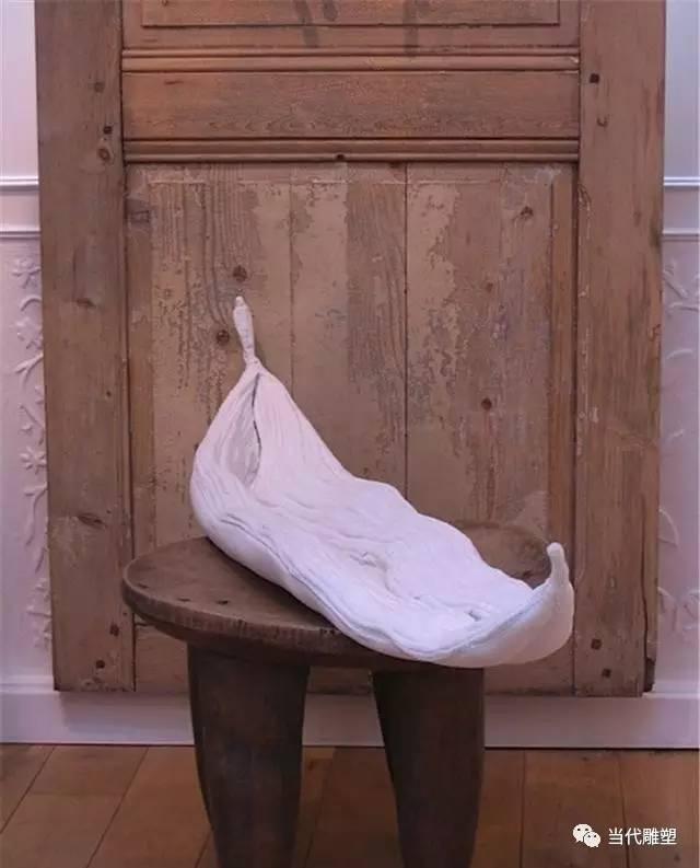禅意棉布雕塑