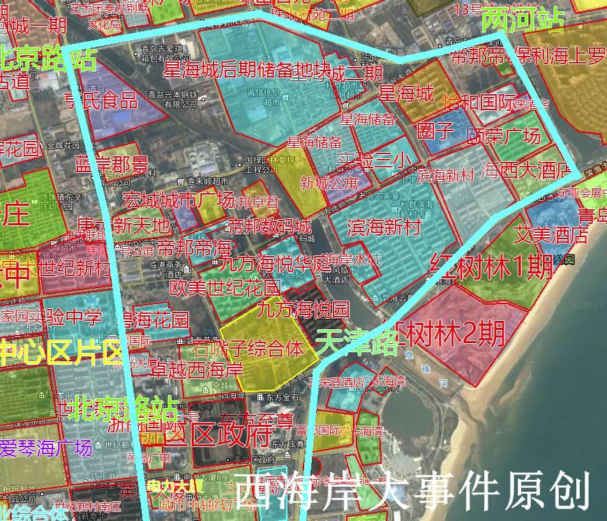 又涨啦:4月黄岛胶南小学学区房房价百科地图!图片