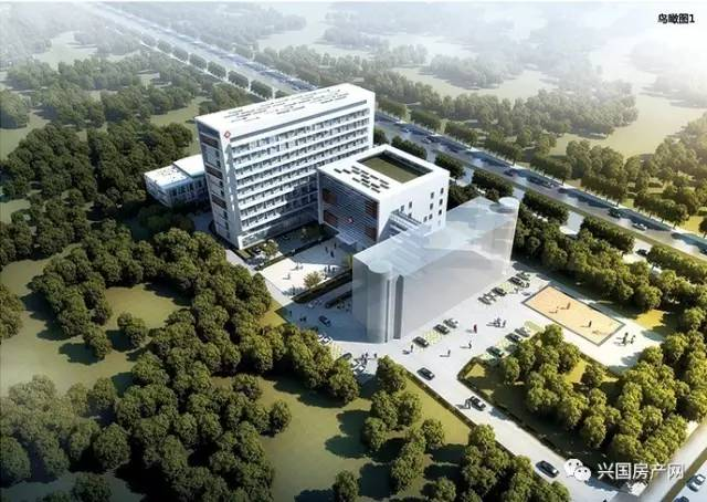 兴国县妇幼保健院建设项目规划设计鸟瞰图 据了解,兴国县妇幼保健院图片