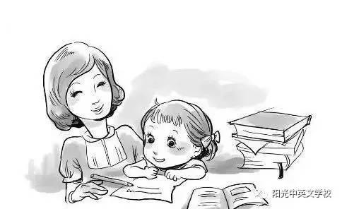 三年级后不用跟一二年级一样再坐在旁边陪伴孩子做作业了,他们开始