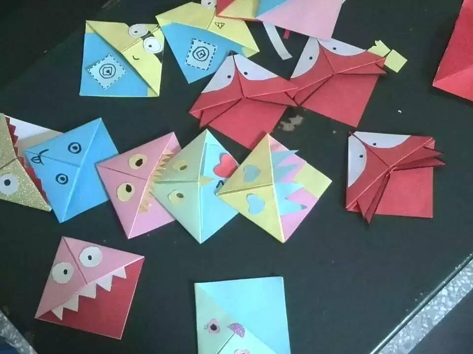 DIY折纸书签,新技能get
